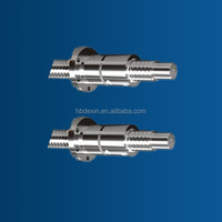 SFT03210-5 standard stainless steel or bearing steel ball screw and nuts set of cnc machine parts