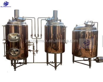 Brushed Stainless Small Brewery for Pub