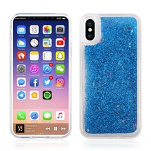 For Iphone 8 Case,Dynamic Liquid Glitter Sand Quicksand Star Case Crystal Clear Cellphone Back Cover For Iphone 8