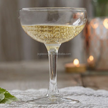 Beautiful wine glass cup cocktail glass champagne coupe