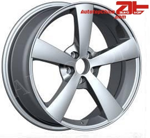 High Quality Deep Dish Black Machined Face Replica Aluminum Alloy Wheel 14