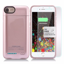 Top sales power bank external battery pack case for apple iphone 7 plus/iphone 6 plus
