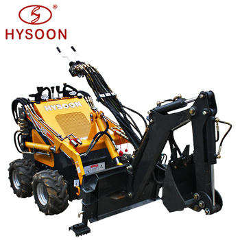 China compact mini backhoe loader for sale