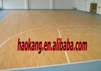Basketball court PVC sports flooring