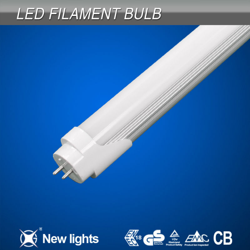 10w aluminum 18w tube8 Japanese 4ft chinese red tube t8 glass beam angel 180 color temperature 3000-6000k 1000lm