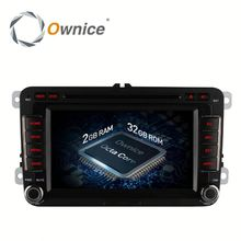 Ownice 8 core 2G RAM Head Unit for VW 2 din with multimedia player With WIFI gps rds BT radio