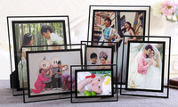 Various size small decorative acrylic picture frame