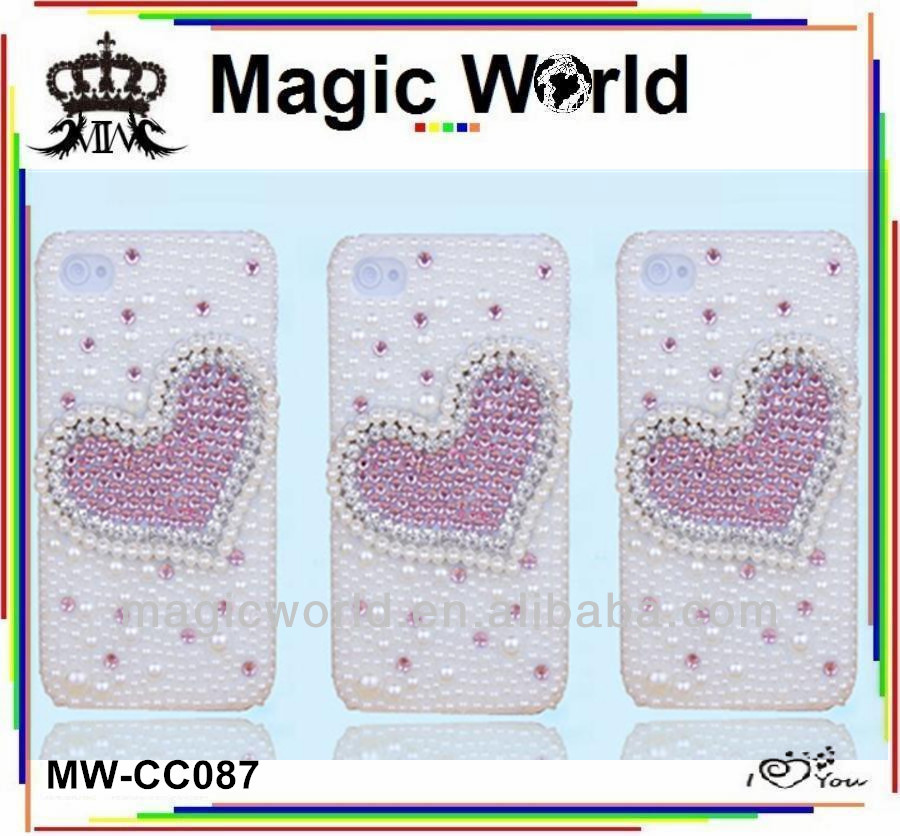 cute heart shape mobile phone ,cheap price cell phone cover