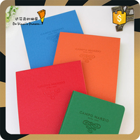 PU cover Colored paper notepad