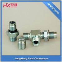 Selling steel pipe fittings / Oil cylinder tee joint /2-3T