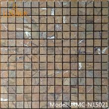 golden select athens grey marble mosaic square shape tile for exterior decoration