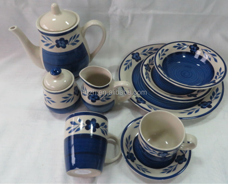 Classic old fashion hp tea and coffee set for wedding