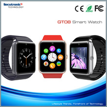 Smart Watch GT 08 With OS Android 4.2 For Samsung Iphone HTC LG Android IOS Mobile Phone