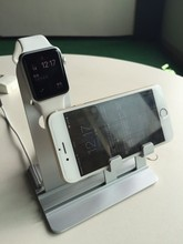 new arrived aluminium charger stander for apple watch charger stander for iphone stander accessoires