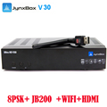 2017 5pcs/lot satellite TV receiver Jynxbox V30 with 8PSK+JB200+Wifi for North America