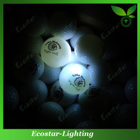 Top sale LED golf balls with personalized design