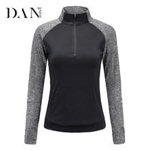 Fashion Style Autumn and Winter Outdoor Dry Fit Custom Gym Shirt Running Sports Long Sleeve Loose Jacket Coat Women