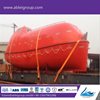 Enclosed Lifeboat Launching Procedure and Rescue Boat 6 persons