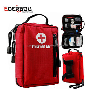 Small First Aid Kit for Hiking, Backpacking, Camping, Travel, Car & Cycling. With Waterproof Laminate Bags You Protect Your Supp