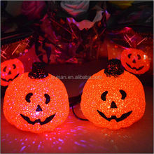 2014 new style plastic halloween led pumpkin decoration light