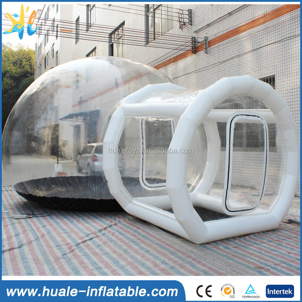 Giant inflatable dome bubble tent, clear inflatable bubble tent