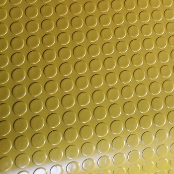 Waterproof Anti-Slip Coin Circular Stud Rubber Matting