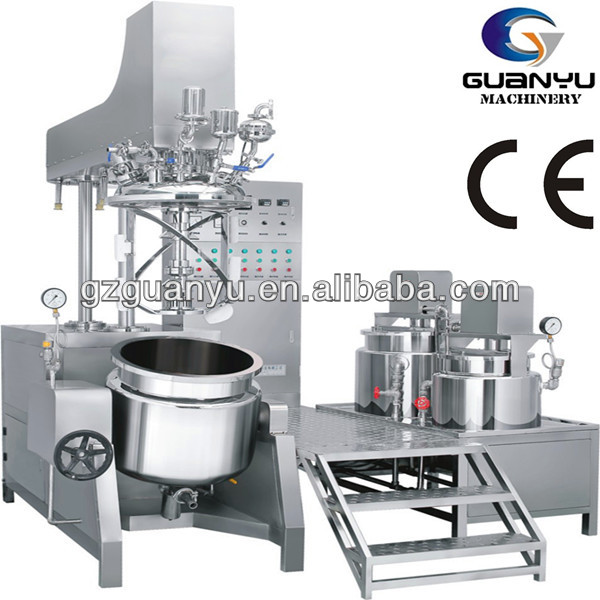 CE Automatic ointment vacuum emulsifying mixer/homogenizer/agitator/blender/disperser