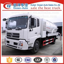 right hand drive 4x2 double pump sewage vacuum suction tanker truck