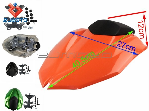 Motorcycle Rear Seat Cowl FRP Fairing Seat Cowl Passenger Seat Cowl Fairing Suitable to Kawasaki Z800 2012-13