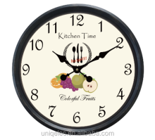 20 inches coffee shop decotate plastic wall clock