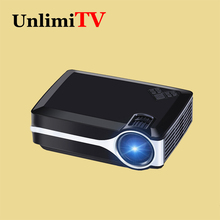 Cheapest Home Cinema Theater 1800lumens Projector With HDMI