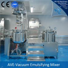 stainless steel hydraulic lifting cosmetic mixing tanks emulsifier