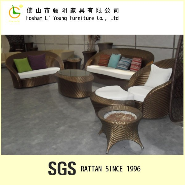 Oval sofa set outdoor/Garden oasis patio furniture sofa/Cheers sofa furniture LG02XSETA