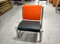 Guangdong Furniture Single Seater Sofa Chair with Metal Legs(FOH-H33)