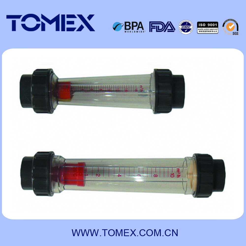 China supply Plastic Flow Meter used for water treatment