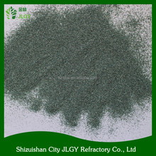 Price of electrical conductivity green silicon carbide powder SiC/manufacturer 99.95% pure silicon carbide