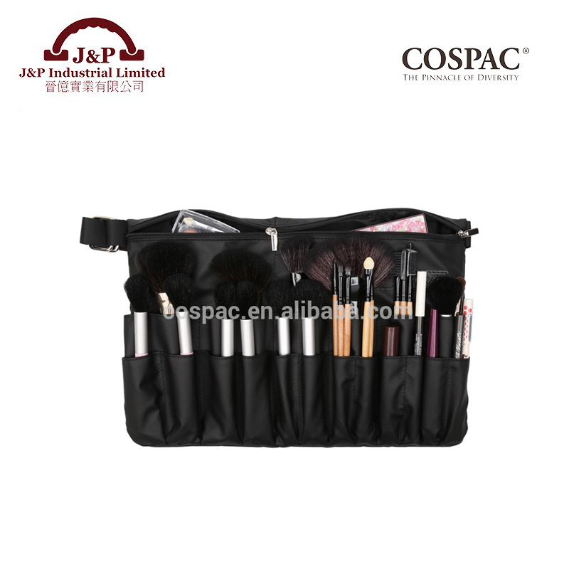 Personalized Black Color Polyester Professional Plus Size Makeup Brush Belt