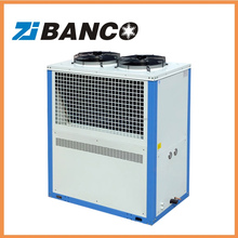 Industrial cooling plastic air cooled mini water chiller