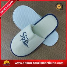 personalized disposable slippers for airplane spa slippers hotel white disposable slipper