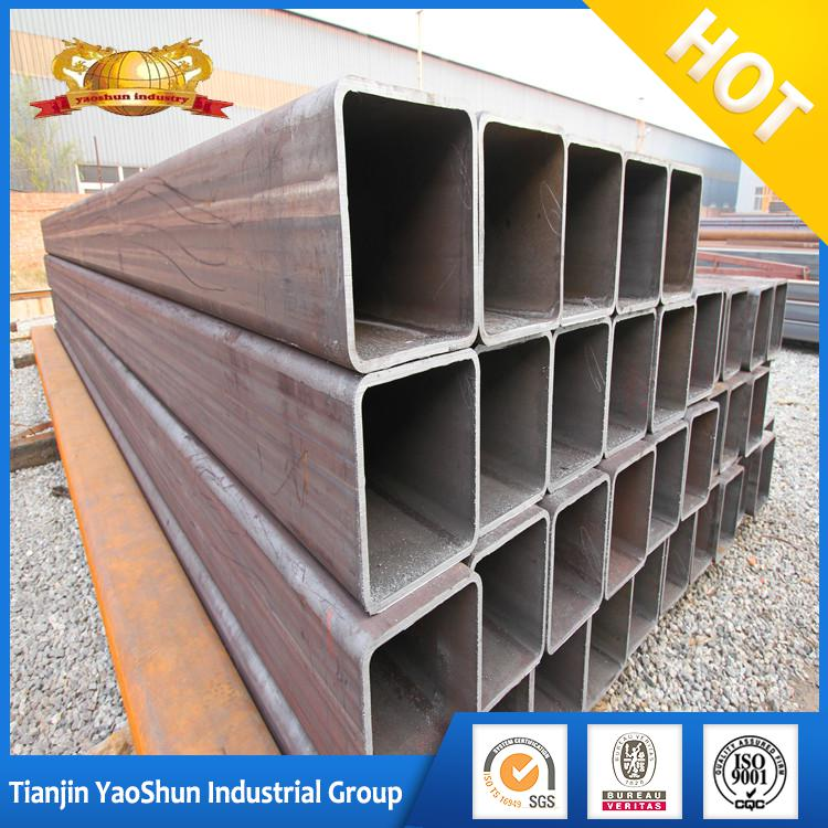 High quality LSAW thin wall large square erw welded steel tubes