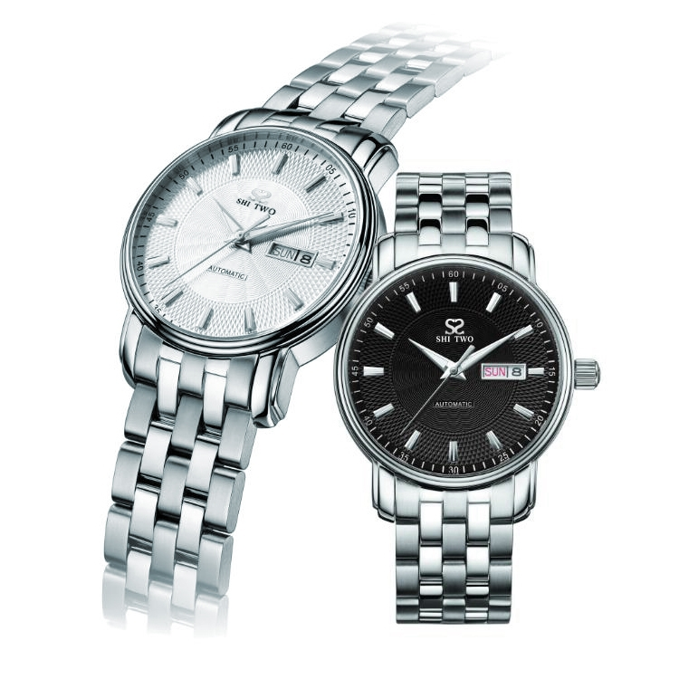 Stainless steel watch mechanical for men and women