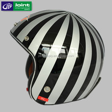motorcycle open face glass fiber reinforced plastic racing moto helmet used for kids