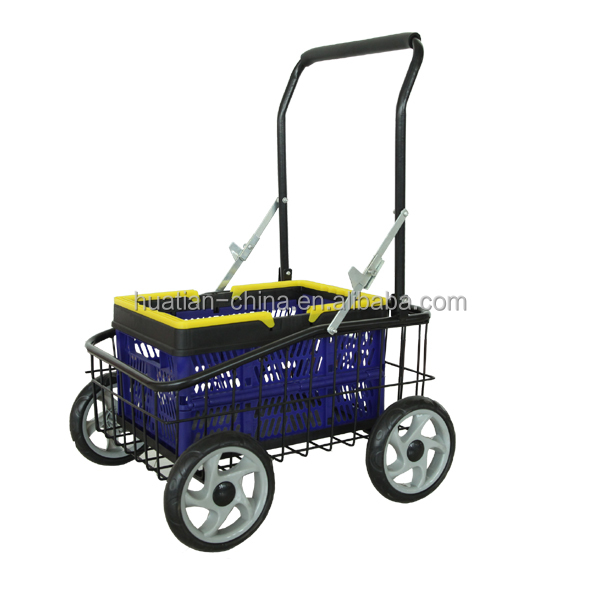Pb-free and UV resistant powder coating surface. tool cart TC4805A,shopping tool cart