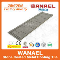 Shingle Building material prices in nigeria, Wanael roof tile factory stone coated roof sheets prices