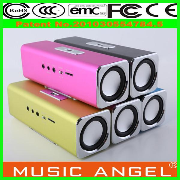 Original Music Angel JH-MAUK2 new business ideas enceinte bluetooth fm radio mini digital speaker