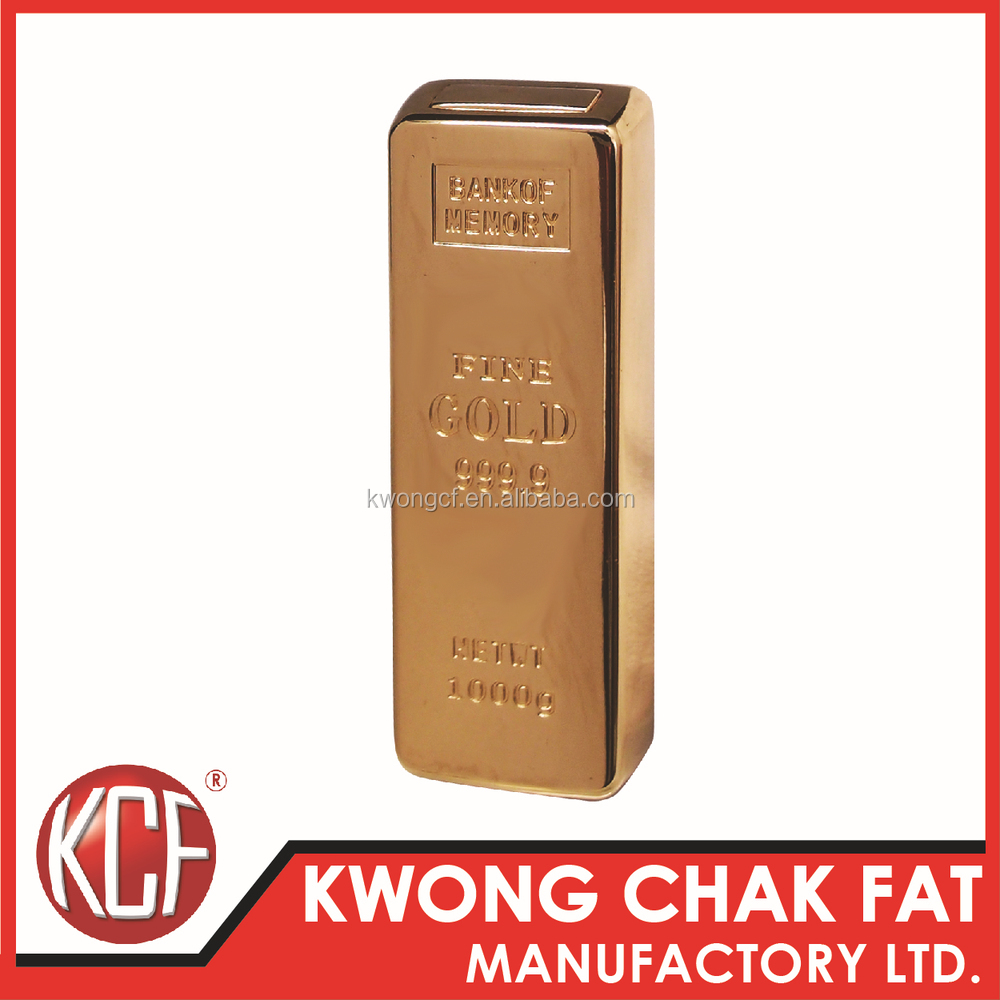 KCF-157 Promotion gift cigarette Electronic USB lighter golden usb lighter