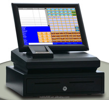 "Promotion cash register!15"" touch screen android edc pos terminal with thermal printer"