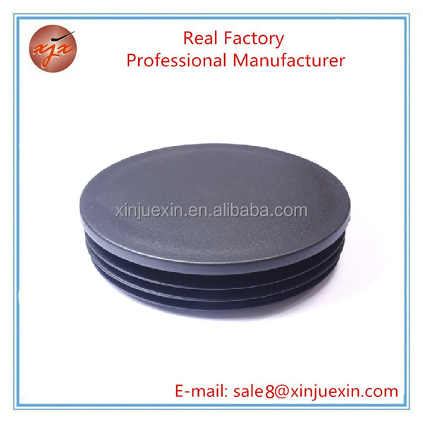 100 mm plastic decorative round pvc water pipe fitting end caps