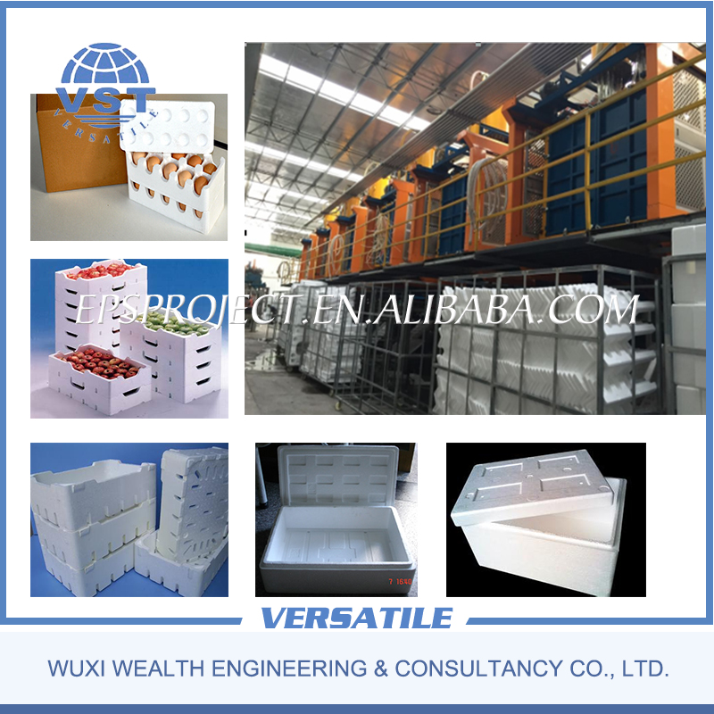 Factory direct sales eps styrofoam box making machine