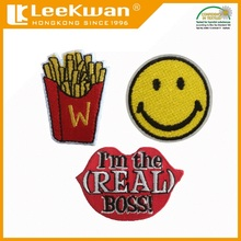 peel and stick patch,self adhensive emoji patches, iron patch sticker embroidery patch